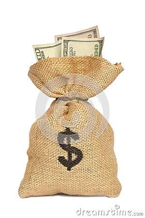 Bag pengar