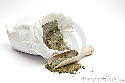 A bag with savory
