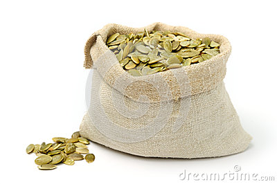 Bag with seeds