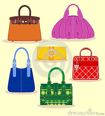 Free Bag Set Royalty Free Stock Image - 21940726