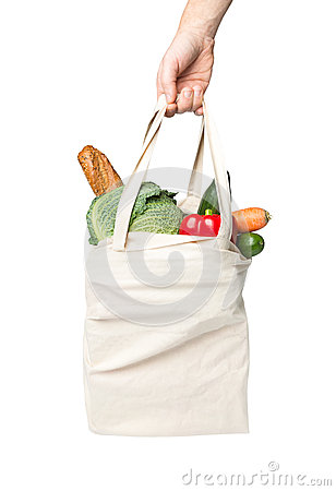 Free Bag With Grocery Purchase Royalty Free Stock Images - 38802659