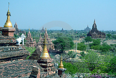 Bagan Archaeological Zone. Myanmar (Burma)