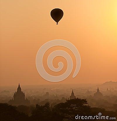 Free Bagan At Sunset, Myanmar. Stock Photography - 27543492
