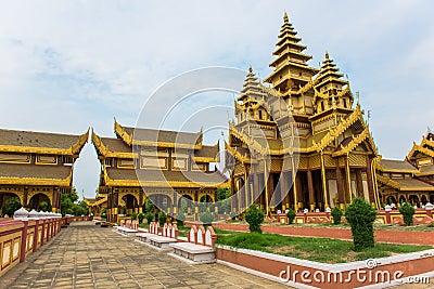Bagan Golden Palace in Old Bagan