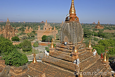 Bagan at Myanmar