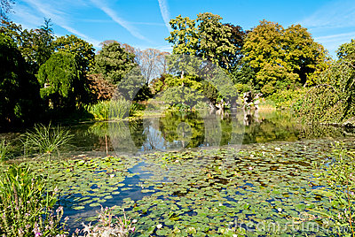 Bagatelle gardens, Bois de Boulogne