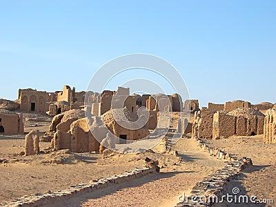 Bagawat egyptian necropolis