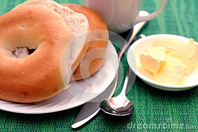 Bagel and breakfast