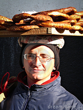 Free Bagel Seller Stock Photo - 18247330