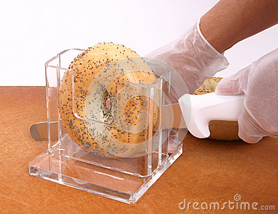 Bagel Slicing Stand