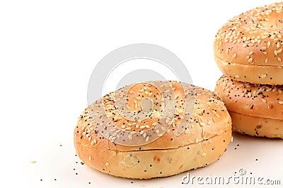 Bagels de clou et de graine de sésame de girofle