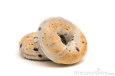 Bagels do mirtilo