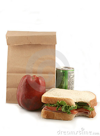 Free Bagged Lunch Royalty Free Stock Photo - 902565
