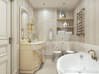 bagno di lusso stile classico immagini stock immagine 28850524