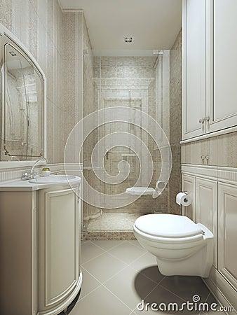 stile del classico del bagno fotografia stock immagine 56452448