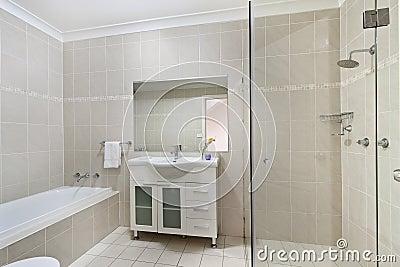 Bagno Moderno In Appartamento Di Lusso Fotografia Stock - Immagine: 47151444