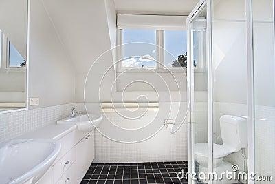 Bagno Moderno In Appartamento Di Lusso Fotografia Stock - Immagine: 47152030