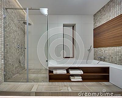 Bagno marrone e beige moderno foto stock – 78 bagno marrone e ...