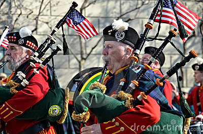 Bagpiper Editorial Stock Photo