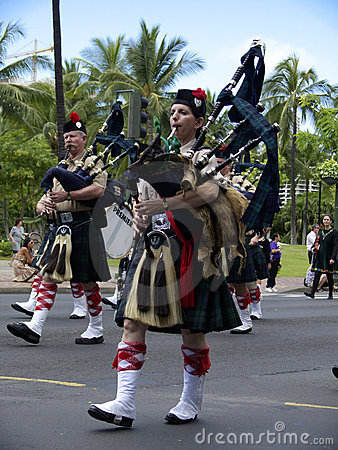 Bagpipes Editorial Photography