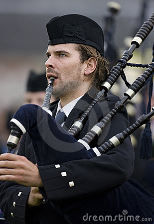 Bagpipes -  Highland Games - Scotland Editorial Image