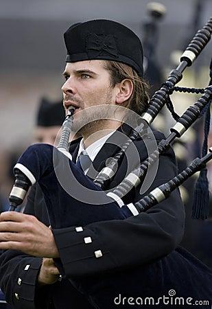 Bagpipes -  Highland Games - Scotland Editorial Image