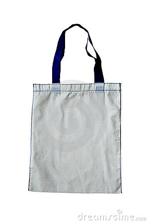 Bags made of cotton.