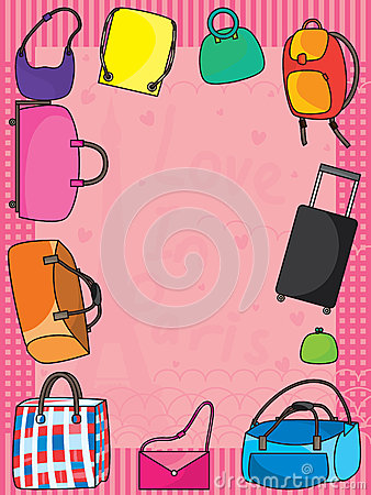 Bags Pink Frame_eps