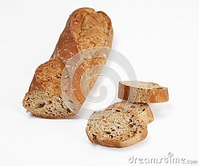Baguette wholemeal
