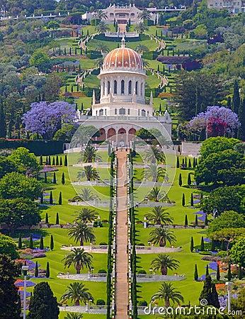Bahai temple Haifa