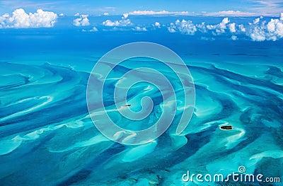 Bahamas aerial