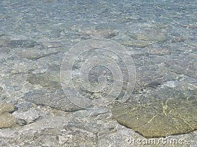 Bahamas Clear Caribbean Sea Water