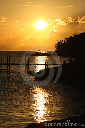 Free Bahamas Sunset Royalty Free Stock Photo - 6328005