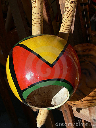 Free Bahia Berimbau Royalty Free Stock Photos - 5700288