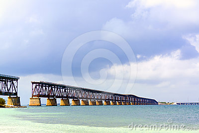 Bahia Honda Old Bridge
