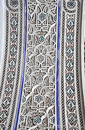 Bahia Palace interior decoration