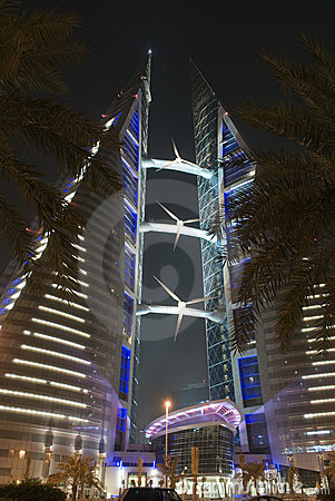 Bahrain centrum handlu świat