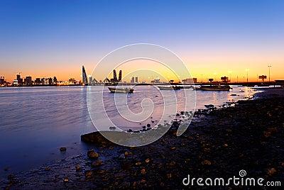Bahrain coast