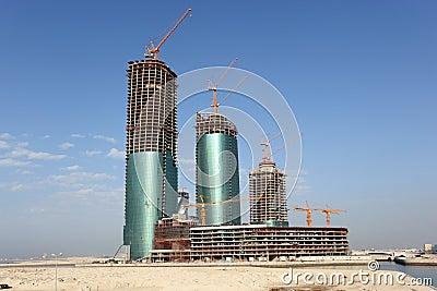 Bahrain Financial Harbour. Manama