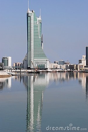 Bahrain finansiell hamn
