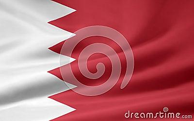 Bahrain flagga
