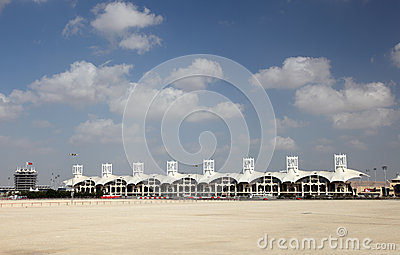 Bahrain International Circuit in Manama Editorial Photo