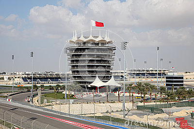 Bahrain International Circuit Editorial Photo