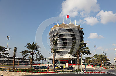 Bahrain International Circuit Editorial Photography