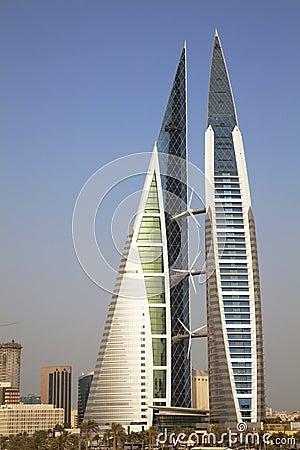 Bahrain World Trade Center, Manama, Bahrain