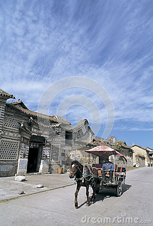 Bai  dwellings in southwest China Editorial Photography