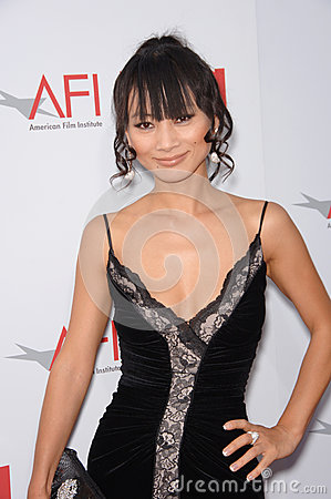 Bai Ling Editorial Photo