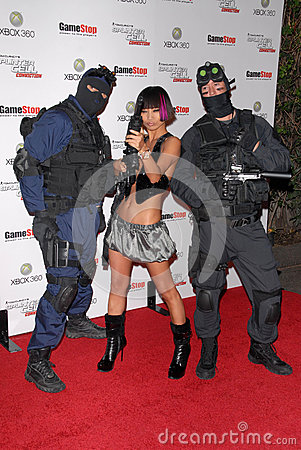 Bai Ling,The Game Editorial Stock Image