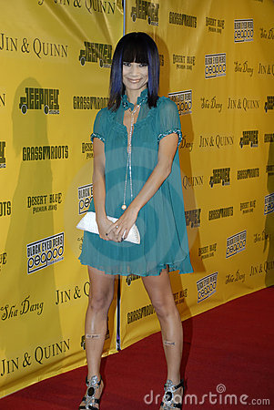 Bai Ling on the red carpet. Editorial Photo
