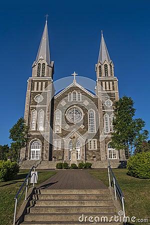 Free Baie-St-Paul Church Royalty Free Stock Photos - 32728548